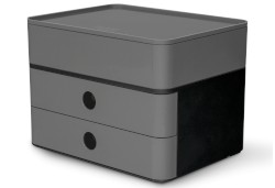 SMART-BOX PLUS ALLISON, Schubladenbox/Utensilienbox, grey