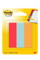 Post-it® Page Marker mohnrot, türkis, orange
