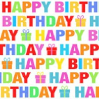 "Serviette ""Colour Birthday"" 25 x 25 cm 20er Packung"