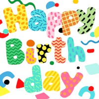 "Serviette ""Birthday Fun"" 33 x 33 cm 20er Packung"